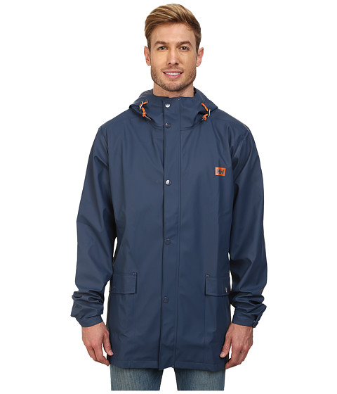 Helly Hansen - Lerwick Rain Jacket (Tech Navy) Boy's Coat