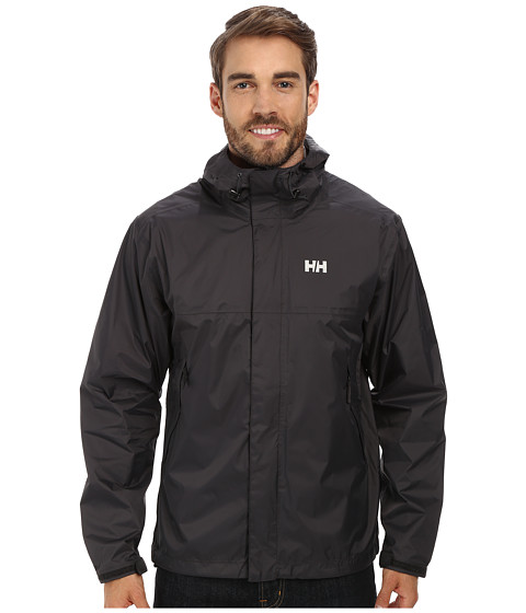 Helly Hansen - Loke Jacket (Ebony) Boy's Coat