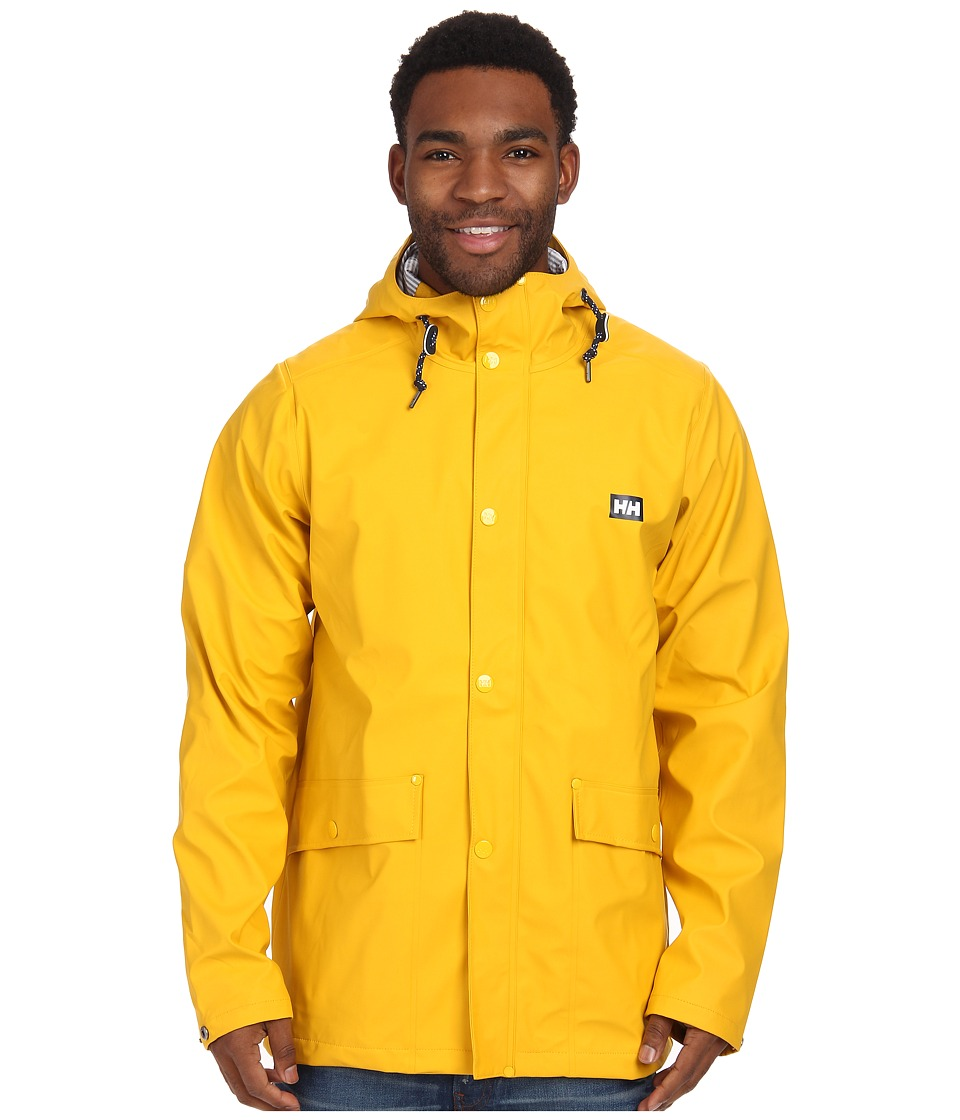 Helly Hansen - Lerwick Rain Jacket (Essential Yellow) Boy's Coat