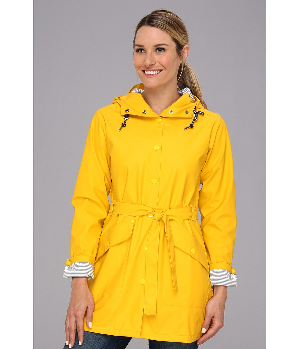 Helly Hansen - Kirkwall Rain Coat (Essential Yellow) Girl's Coat