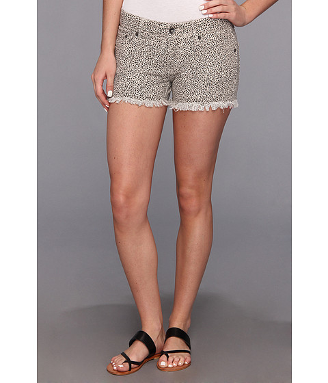 Roxy - Lovin Print Short (Animal City Stone Combo) Women