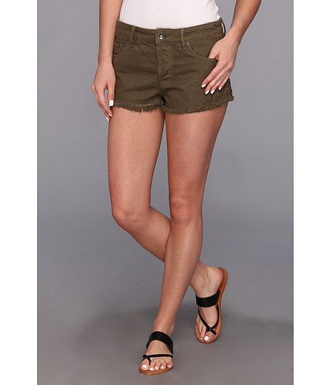 Roxy - Breaking Crochet Short (Recruit Olive) Women's Shorts