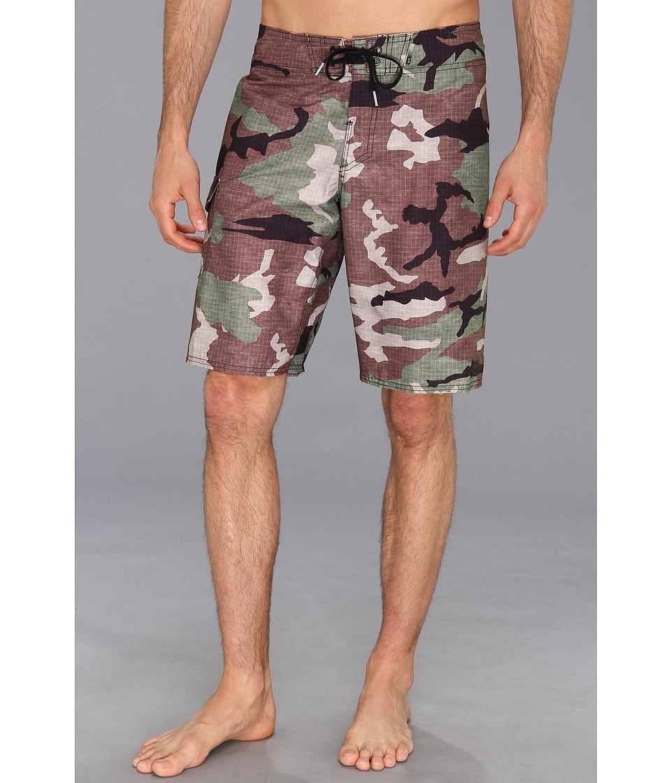 Reef - Ponto Beach 5 Print Boardshort (Camouflage) Men's Swimwear