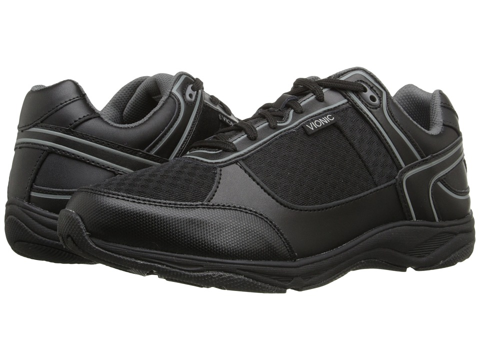 7b6909f2160 ... UPC 616542172596 product image for VIONIC with Orthaheel Technology  Endurance Walker (Black) Men s Shoes ...