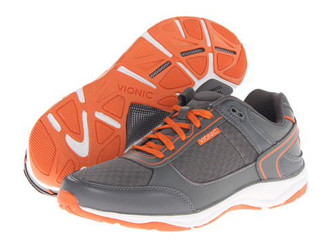 VIONIC with Orthaheel Technology - Endurance Walker (Grey) Men's Shoes