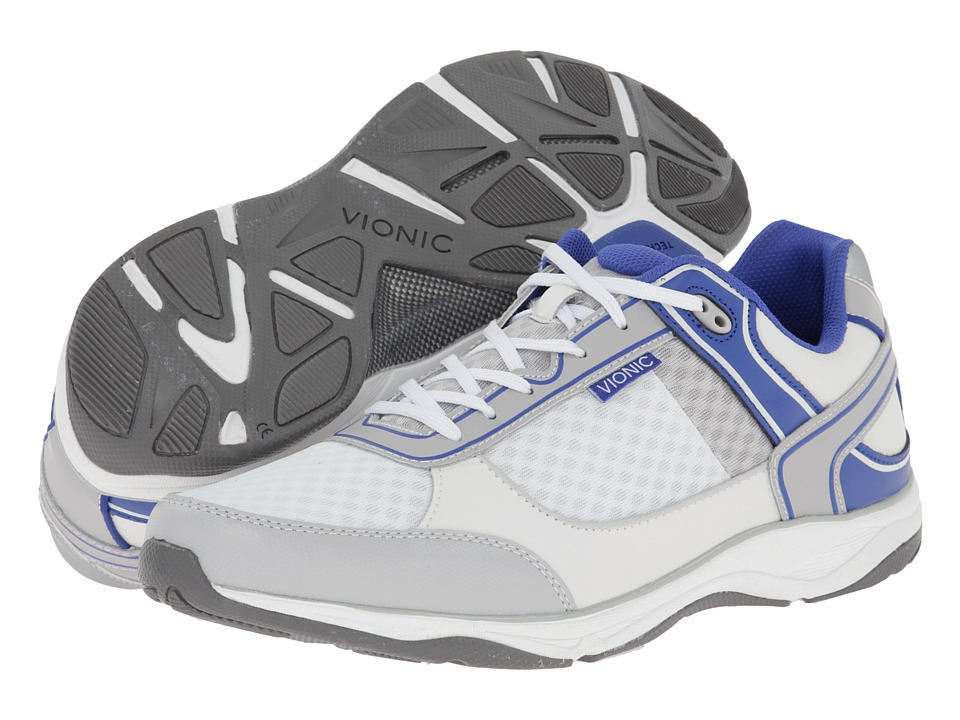 VIONIC - Endurance Walker (White) Men's Shoes