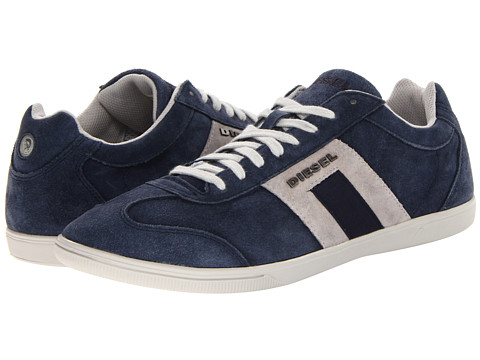 Diesel - Happy Hours Vintagy Lounge (India Ink/Silver Birch) Men's Lace up casual Shoes