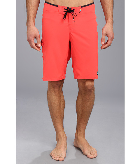 Reef - Alarm Boardshort (Red) Men's Swimwear