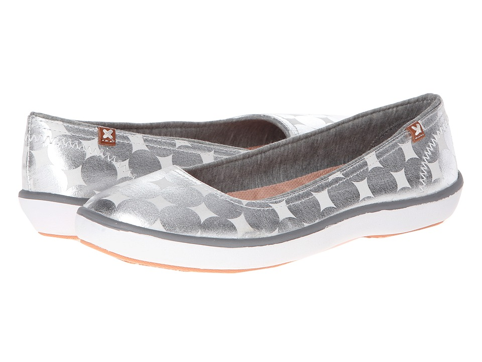 Dr. Scholl's - Marlee (Metallic Silver Mod Dot Twill) Women's Shoes