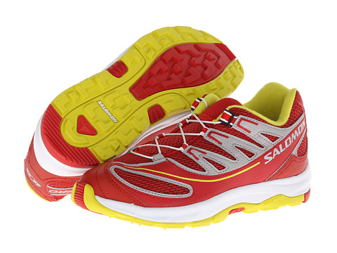 Salomon Kids - XA PRO 2 K (Toddler/Little Kid/Big Kid) (Quick/White/Yellow) Girls Shoes