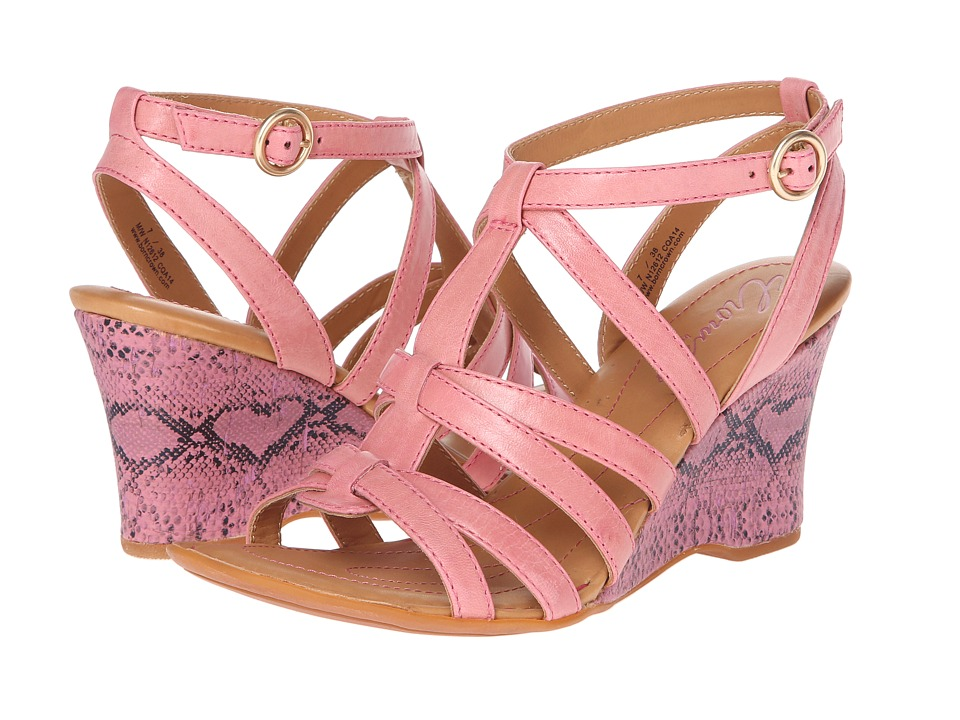 Born - Yulia - Crown Collection (Pink) Women's Wedge Shoes