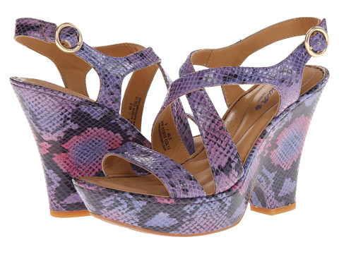 Born - Veronique - Crown Collection (Purple/Pink Snake) Women's Shoes