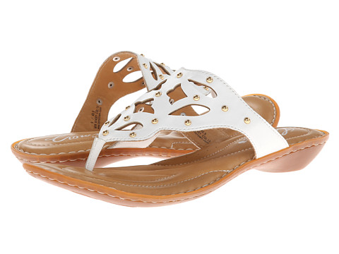 Born - Milena - Crown Collection (White) Women's Sandals