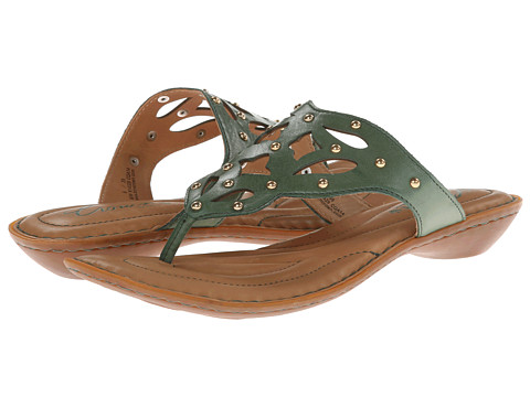 Born - Milena - Crown Collection (Green) Women's Sandals
