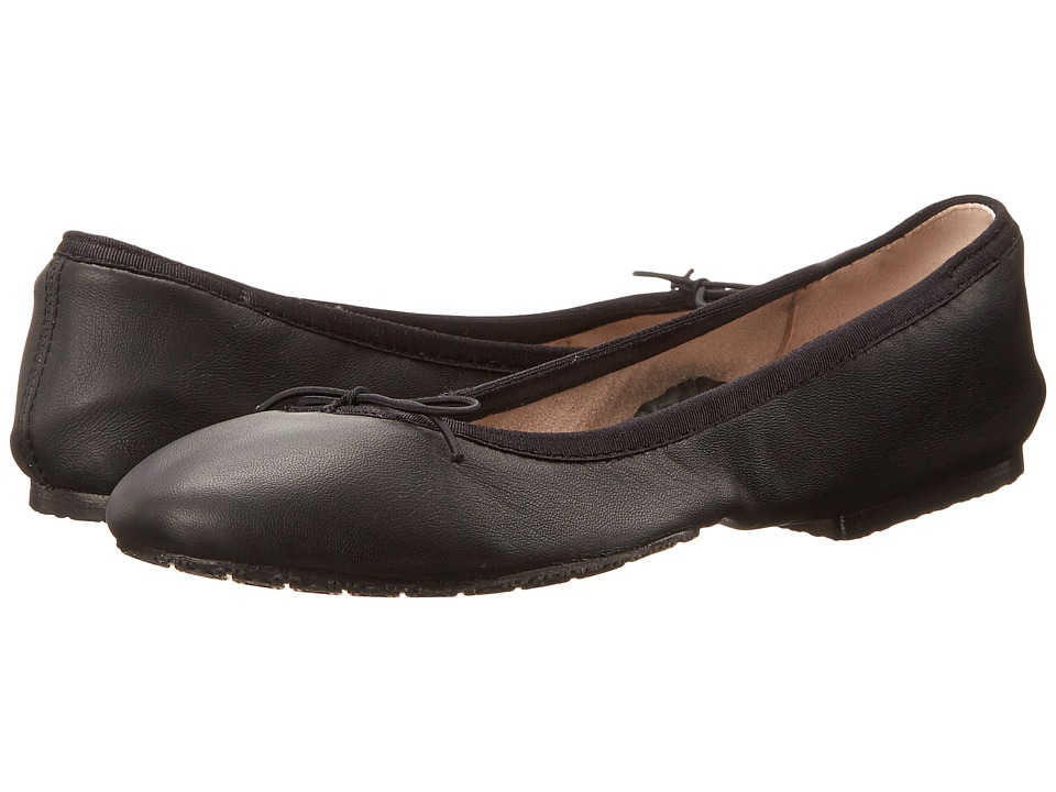 Bloch - Roll-Up (Black) Women's Flat Shoes