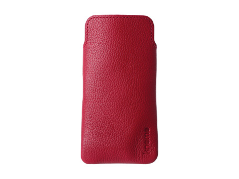 KNOMO London - Tech - Leather Slim Case (Teaberry) Cell Phone Case