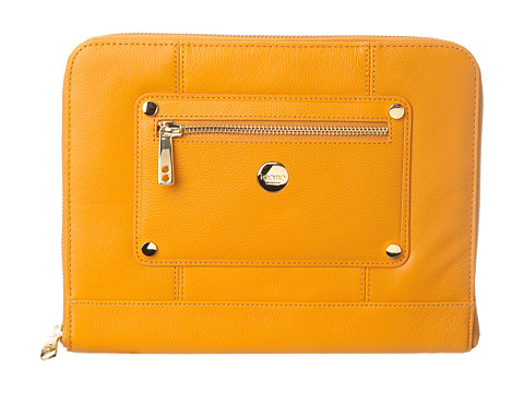 KNOMO London - Zip Sleeve for Tablet (Burnt Ochre) Computer Bags