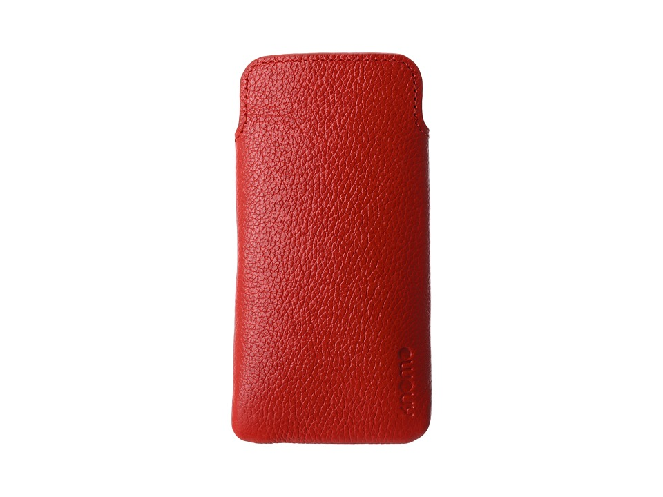KNOMO London - Tech - Leather Slim Case (Terracotta) Cell Phone Case