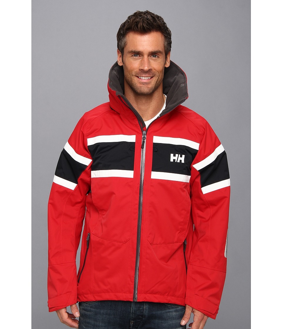Helly Hansen - Salt Jacket (Red) Boy's Coat