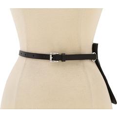 MICHAEL Michael Kors Michael Kors Belt Bag With Beaded MK Logo (Black) Women's Belts