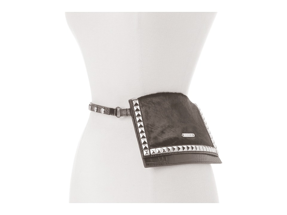 MICHAEL Michael Kors Michael Kors Haircalf Belt Bag With Pyramid Stud Flap Women's Belts
