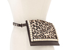 MICHAEL Michael Kors - Michael Kors Haircalf Belt Bag With Pyramid Stud Flap (Leopard) - Apparel