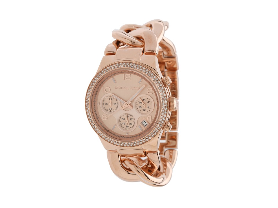 Michael Kors - MK3247 - Runway Twist Chronograph (Rosegold) Watches