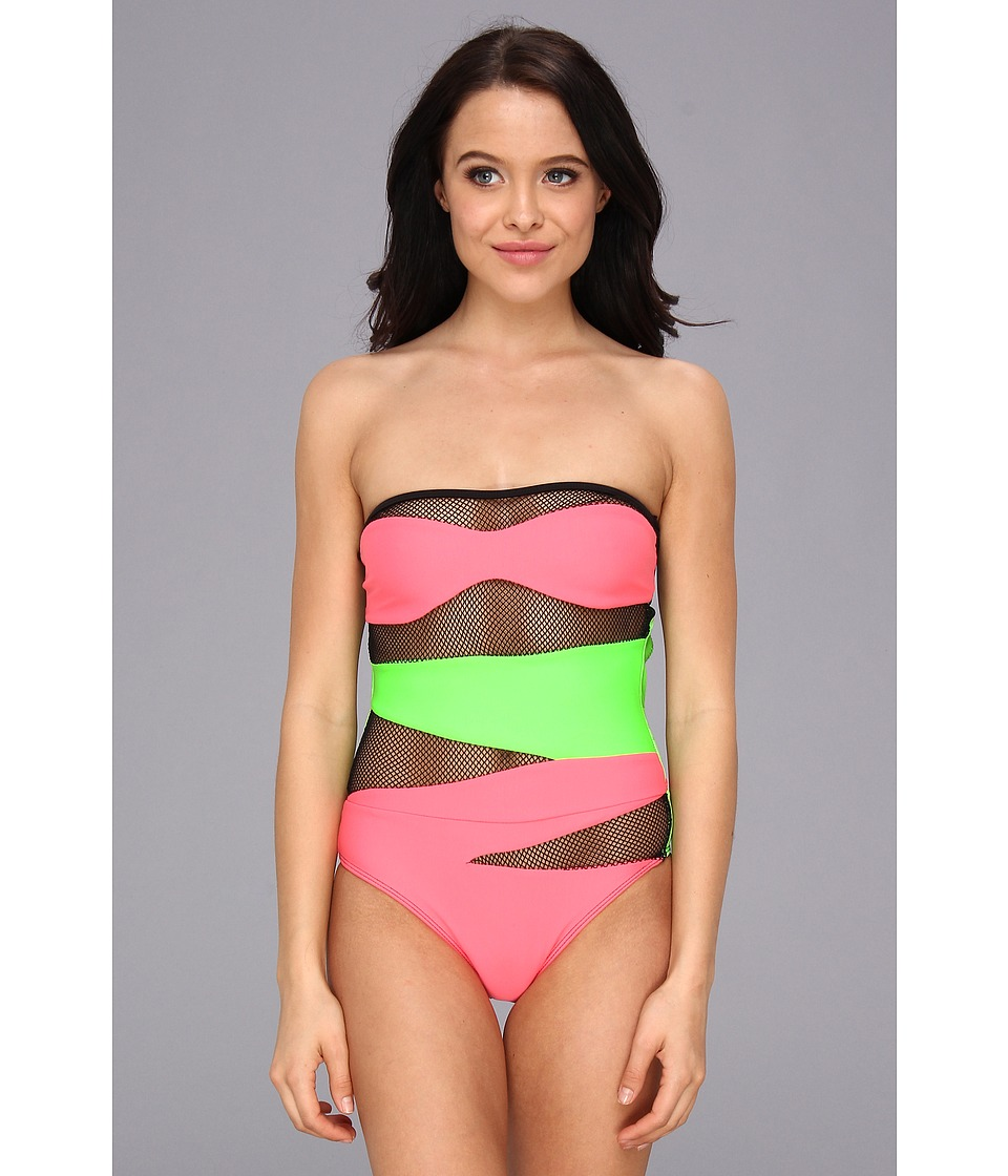 Beach Riot - The Heatwave One Piece (Limonada - Watermellon) Women's Swimsuits One Piece