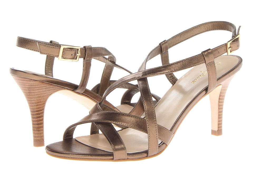 Cole Haan - Bartlett Sandal (Ch Gold Metallic) High Heels
