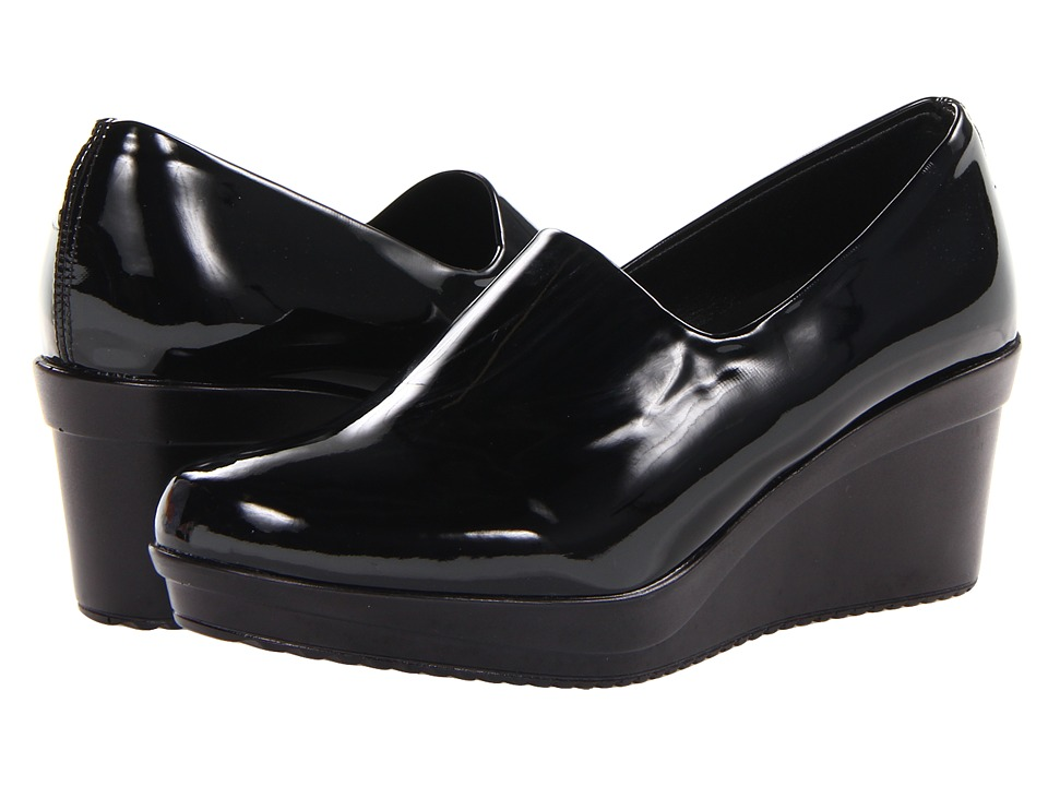 Spring Step - Masha (Black) Women's Wedge Shoes
