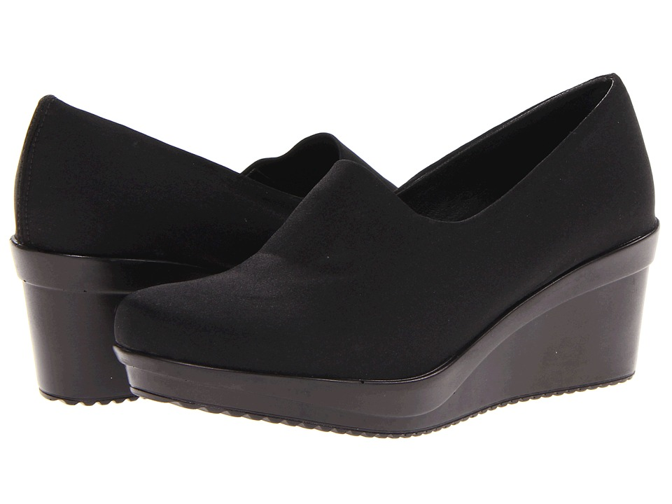 Spring Step - Masha (Black 1) Women's Wedge Shoes