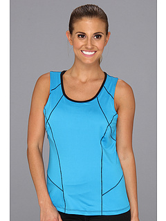 SALE! $15.95 - Save $29 on Fila Day Glo Full Coverage Tank Top (Atomic Blue Black) Apparel - 64.56% OFF $45.00