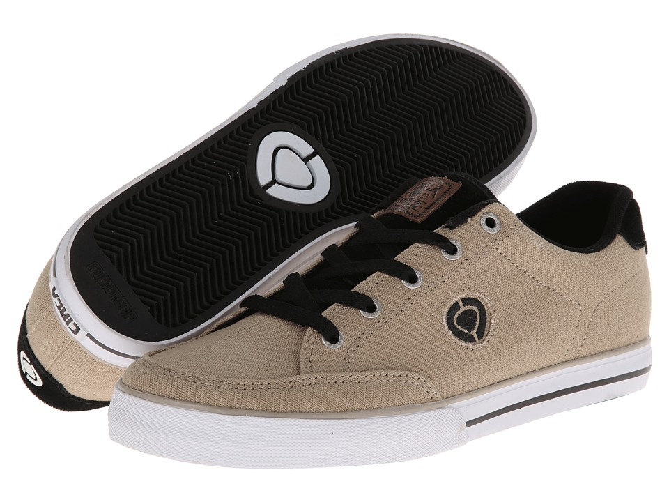 Circa - Lopez 50 Slim (Nomad/Black) Men's Skate Shoes