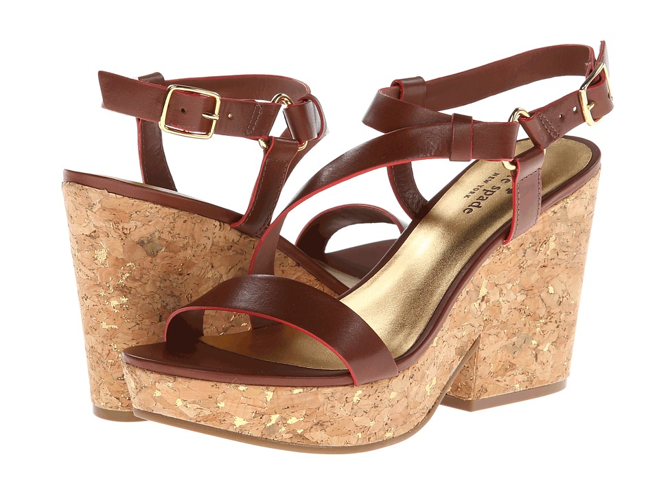Kate Spade New York - Viex (Luggage Suede) Women's Sandals