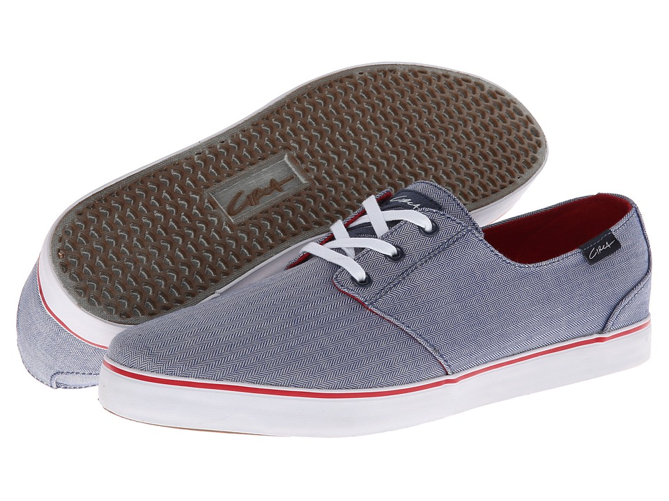 Circa - Crip (Blue/Red) Men's Skate Shoes