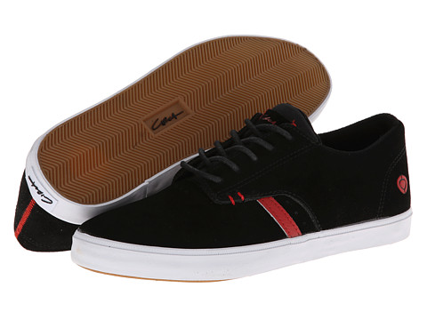 Circa - Del Monte (Black/Formula One) Men's Skate Shoes