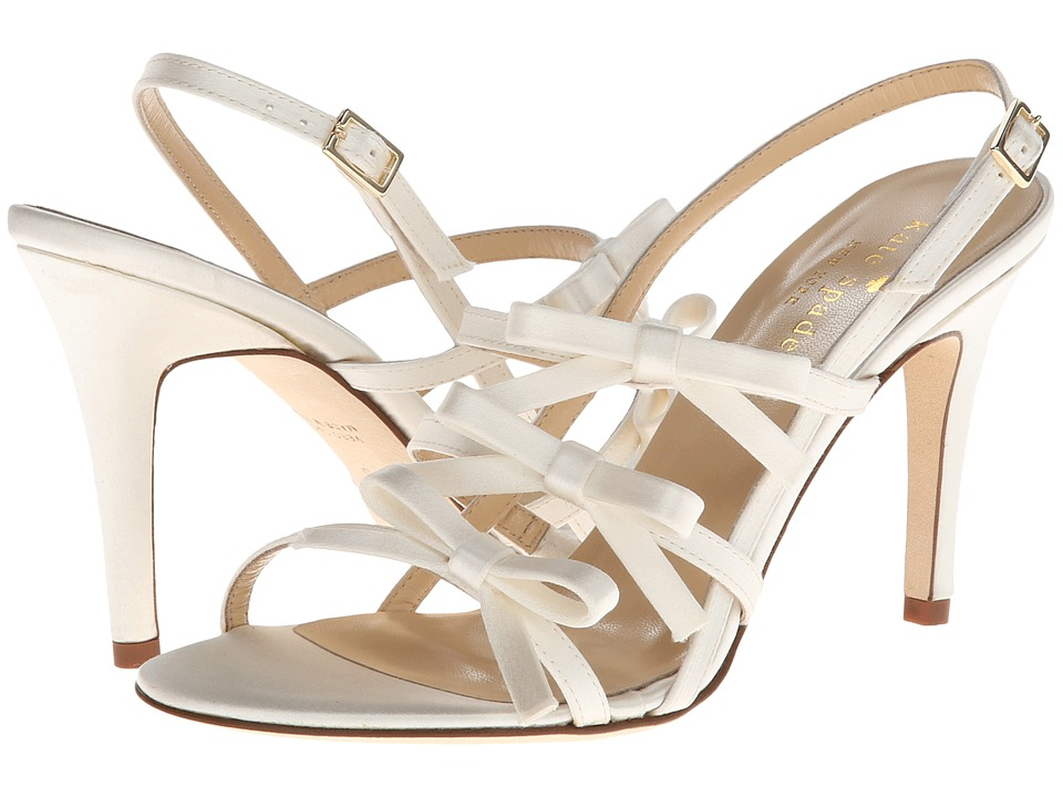 Kate Spade New York Sally (Ivory Satin) High Heels