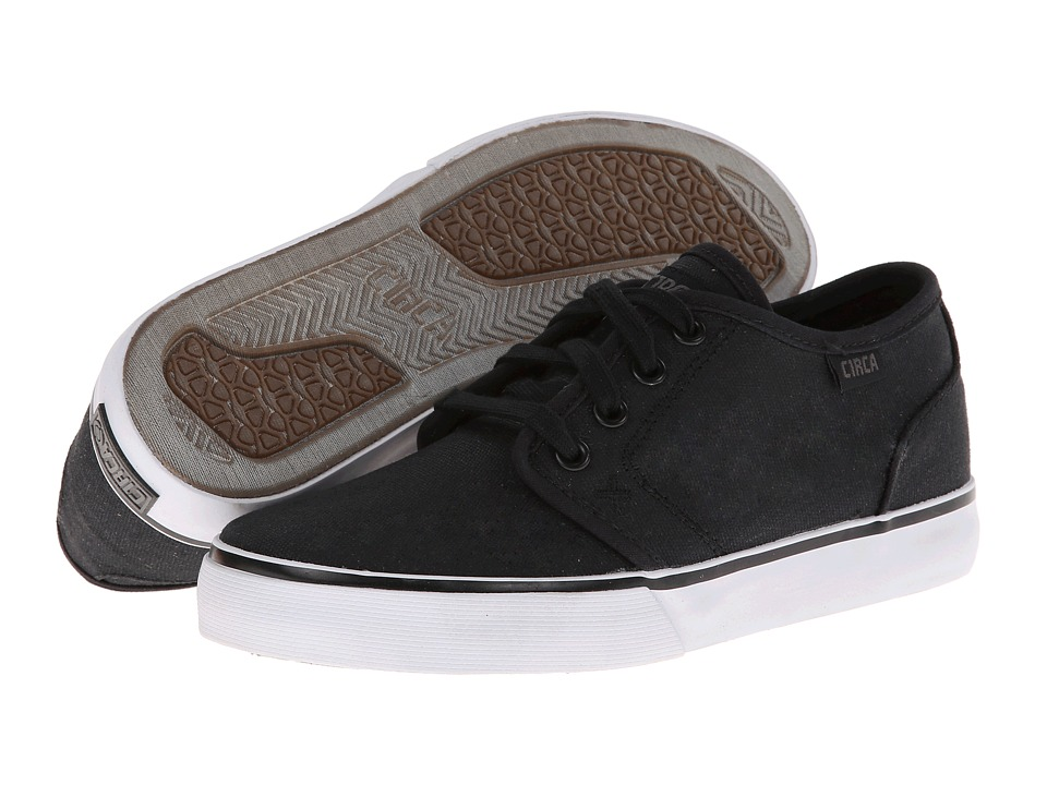 Circa - Drifter (Black/Dark Gull) Men's Skate Shoes