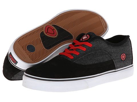 Circa - Griz (Black/Denim) Men's Skate Shoes