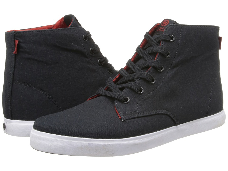 Circa - Hero (Black/Pompeian Red) Men's Skate Shoes