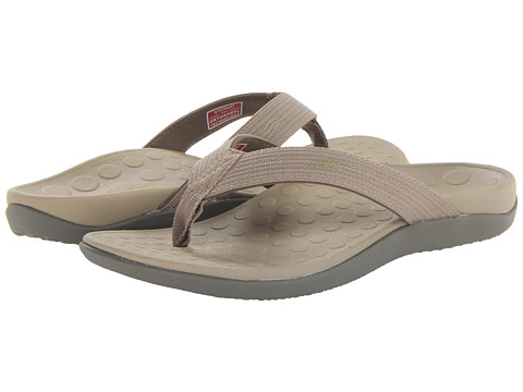 153068d3ced0 ... UPC 616542166694 product image for VIONIC with Orthaheel Technology  Wave Sandal (Khaki) Shoes
