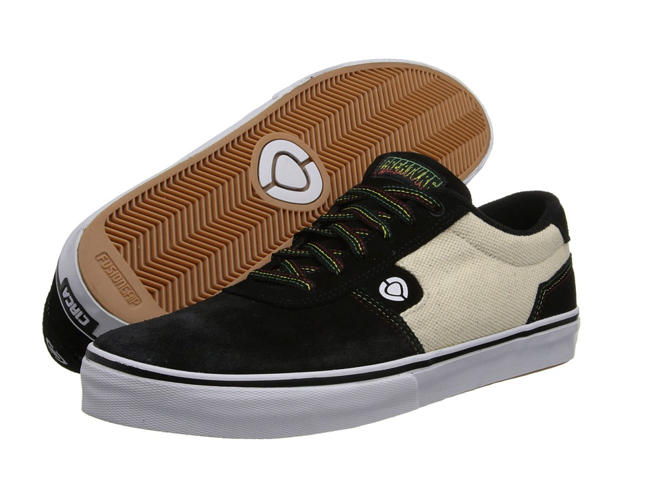 Circa - Lamb (Black/Natural Hemp/Creature) Men's Skate Shoes