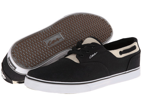 Circa - Valeo (Black/Hemp) Men's Skate Shoes