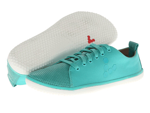 Vivobarefoot - Freud (Green Canvas/Leather) Women's Shoes