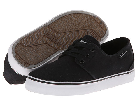 Circa - Crip (Toddler/Little Kid/Big Kid) (Black) Men's Skate Shoes