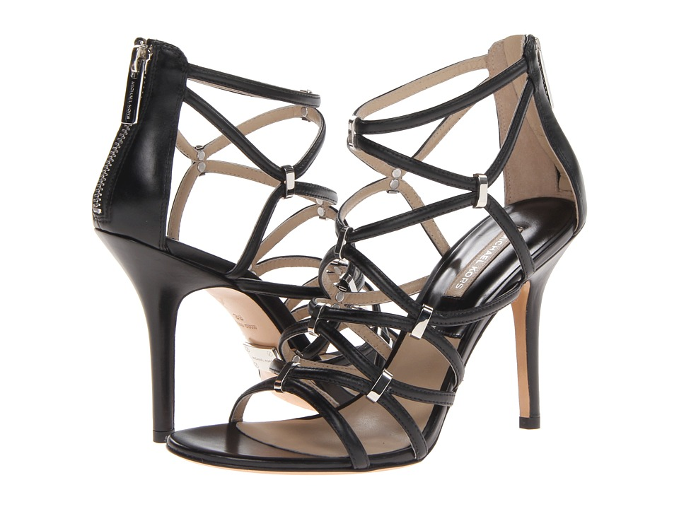 Michael Kors Charlene (Black Smooth Calf) High Heels