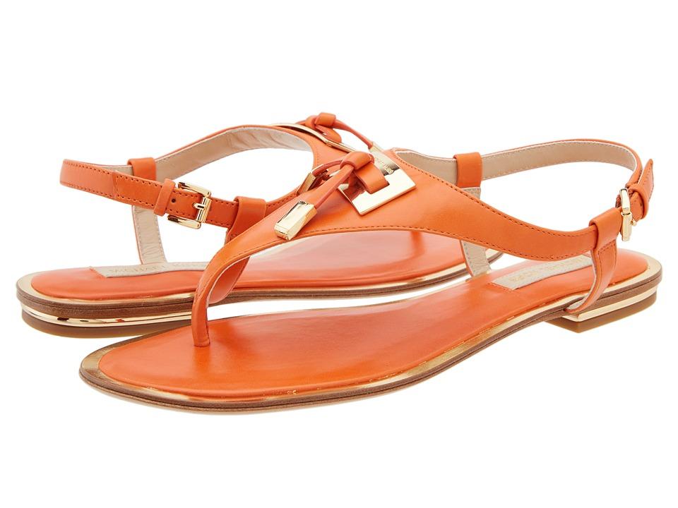 Michael Kors - Hara (Orange Smooth Calf) Women