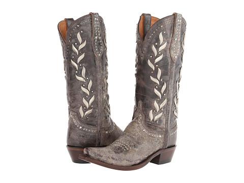 Lucchese - M4620.S54 (Dark Brown) Cowboy Boots