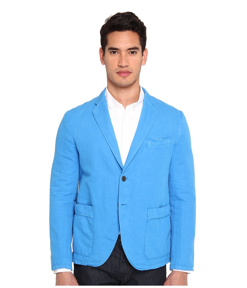 Just Cavalli - Blazer (Pale Blue) Men's Jacket