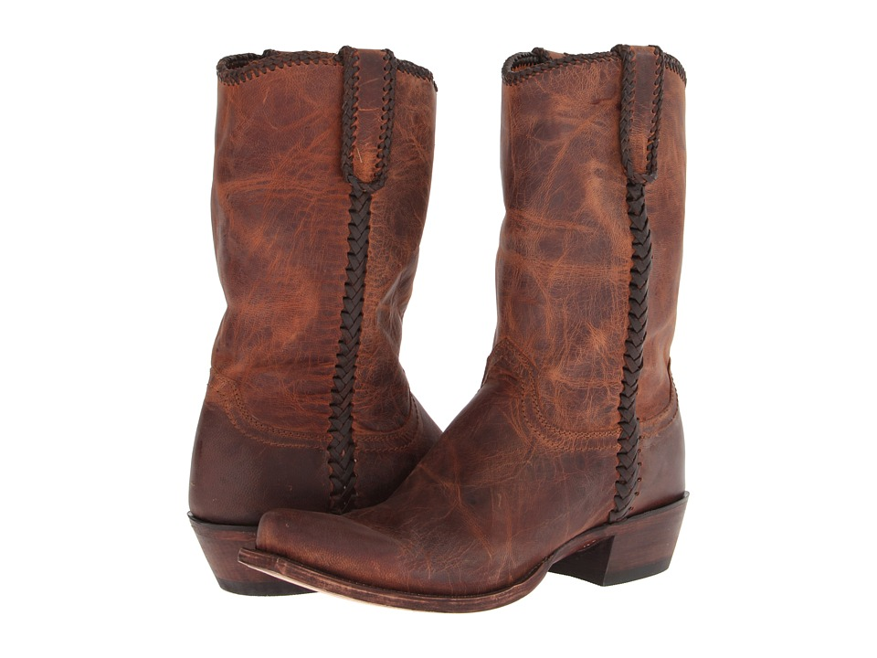 Lucchese M2601.74 (Peanut Brittle) Cowboy Boots
